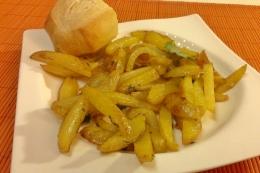 153. Patatas al Ajo Cabañil (19minutos)