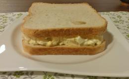 157. Sándwich de Huevo y Espárragos Blancos (8minutos)